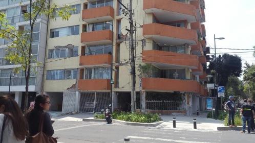 Our building. Morelia 107 Roma